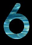 Water Archiform Numbers 6 - John Duffield duffield-design