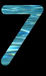 Water Archiform Numbers 7 - John Duffield duffield-design