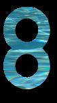 Water Archiform Numbers 8 - John Duffield duffield-design