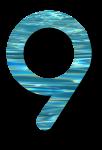 Water Archiform Numbers 9 - John Duffield duffield-design
