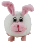 White Rabbit - farm animal - toy Bev Dunbar Maths Matters