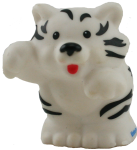 White Tiger - wild animal - toy Bev Dunbar Maths Matters