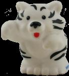White Tiger - wild animal - toy Bev Dunbar Maths Matters