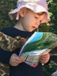 Willow reads Taronga Park Zoo Map1 Bev Dunbar Maths Matters