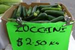 Zucchini $2 50 per kg Bev Dunbar Maths Matters