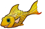 fish yellow - John Duffield duffield-design